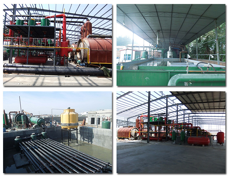 30T waste tyre pyrolysis plant installation.jpg